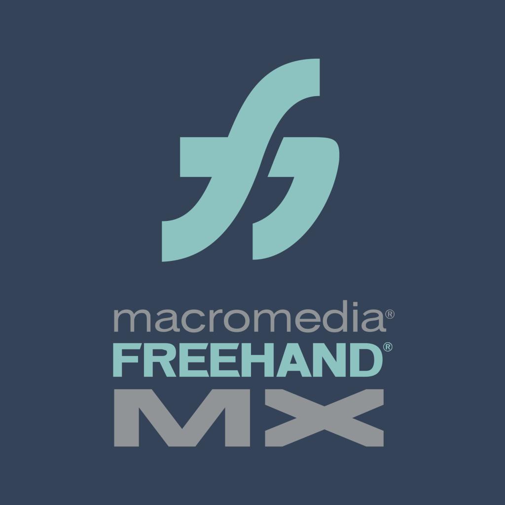 macromedia freehand mx logo png transparent 1024x1024 - کدام نرم افزار برای چاپ فلکسو مناسب تر است ؟