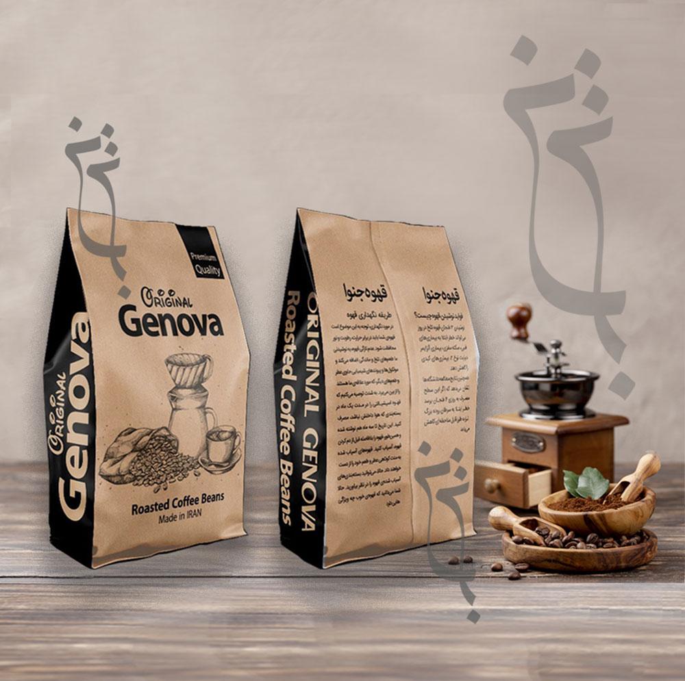 جنوا - بسته بندی قهوه جنوا